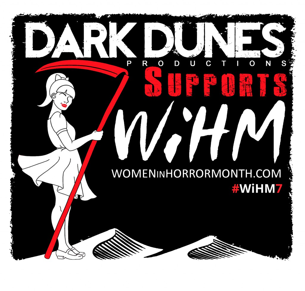 Women in Horror month, mallory o'meara, dark dunes